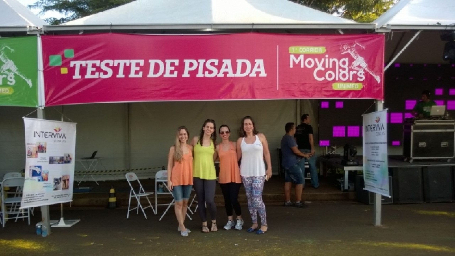 Interviva na 1a. Moving Colors Unimed